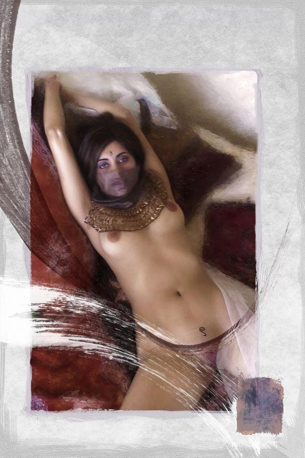 untitled 9 artistic nude artwork print by artist ward george