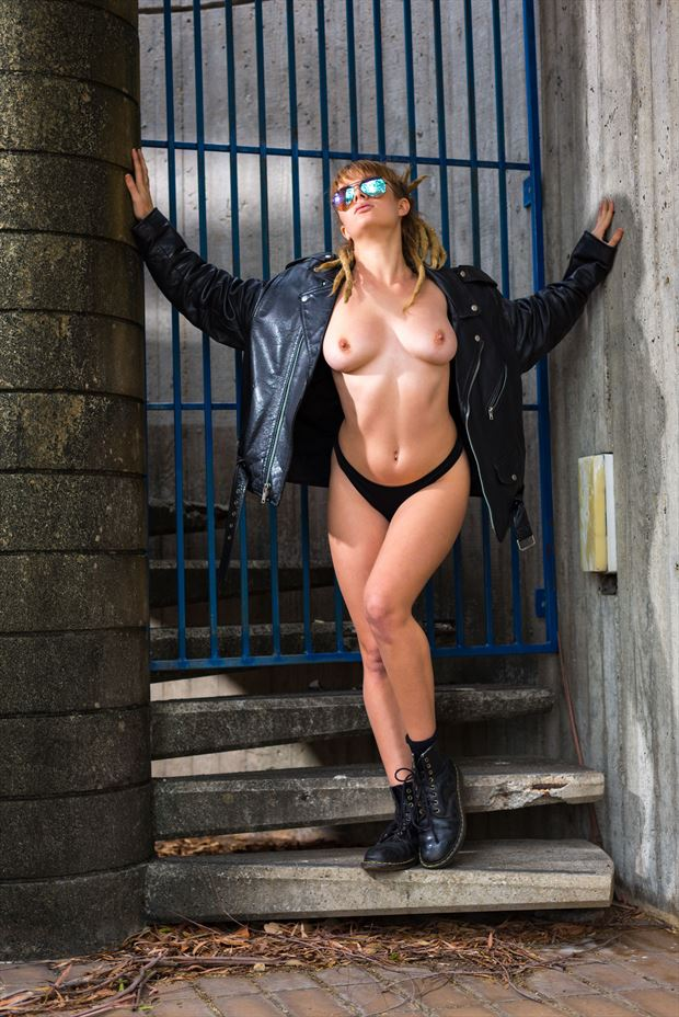 urban punk erotic photo print by photographer stephen wong