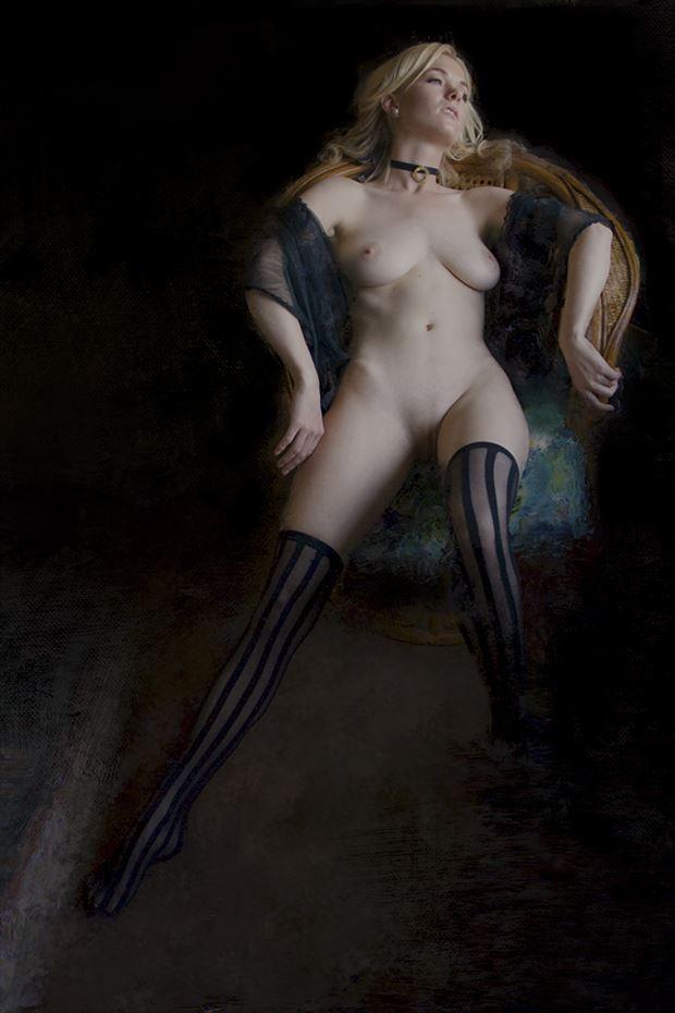 venus naturalis lindsey 1 artistic nude artwork print by artist ward george