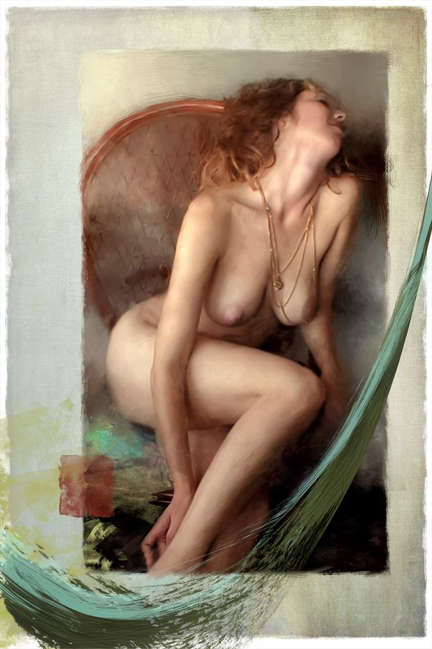 venus naturalis starr 1 artistic nude artwork print by artist ward george