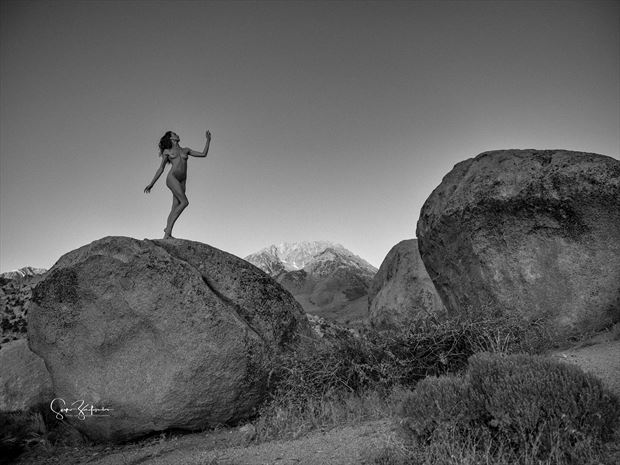 venusdesierra artistic nude photo print by photographer acros photography