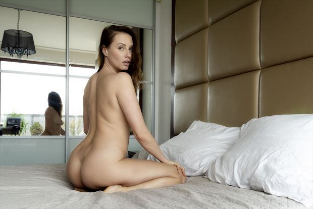 veronika artistic nude photo print by photographer janne