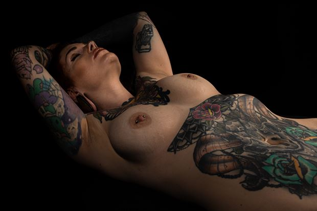 victoria s bones artistic nude photo print by photographer jim setzer