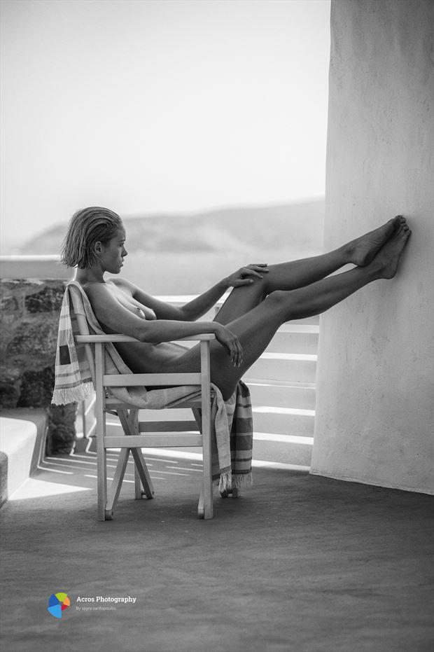 viktoria artistic nude photo print by photographer acros photography