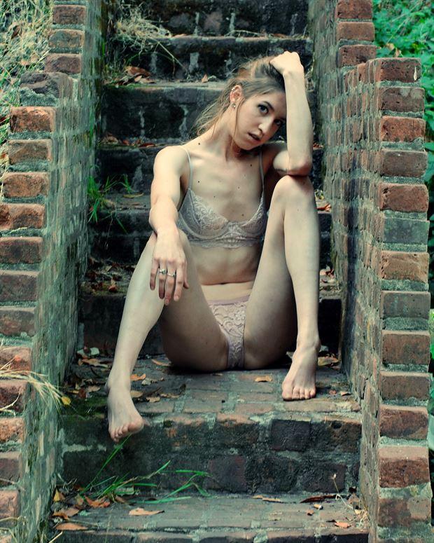 vital vulnerability lingerie photo print by photographer subversive visions