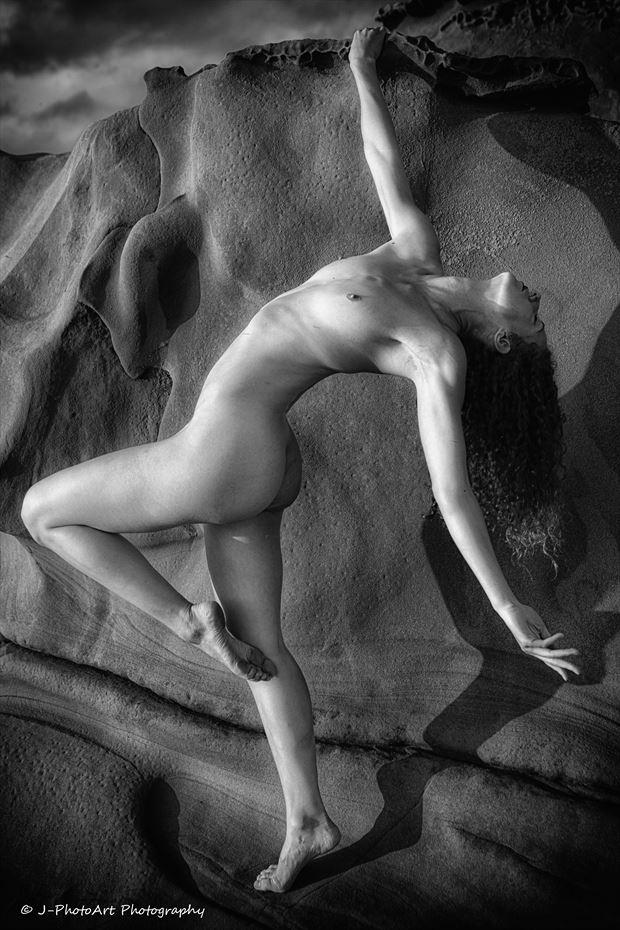 vivian cove artistic nude photo print by photographer j photoart
