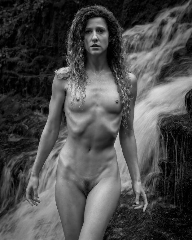 vivian falls artistic nude photo print by artist kevin stiles