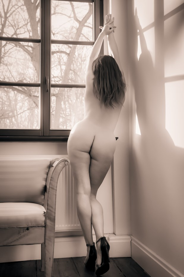 walk the line Artistic Nude Photo print by Photographer BenGunn