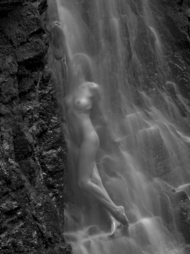 water fashion  Artistic Nude Photo print by Photographer foxfire 555