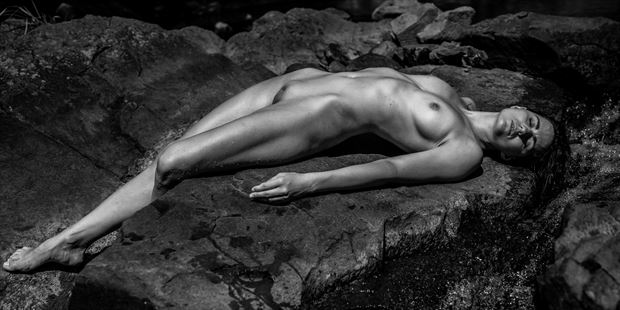 water nymph nature photo print by artist artfitnessmodel