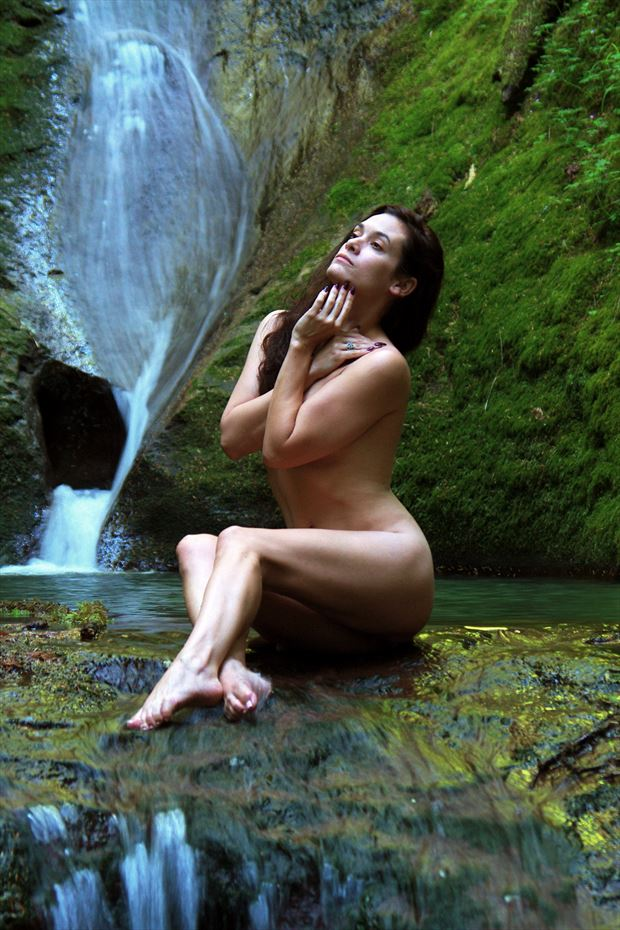 water spirits Artistic Nude Photo print by Photographer AEPhotography