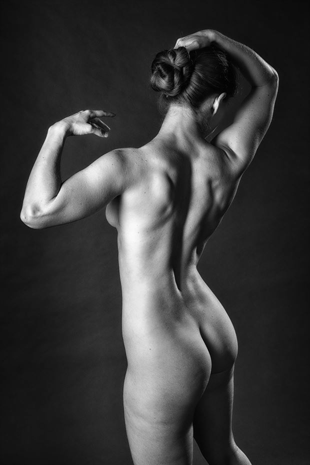 welcome back artistic nude photo print by photographer rick jolson
