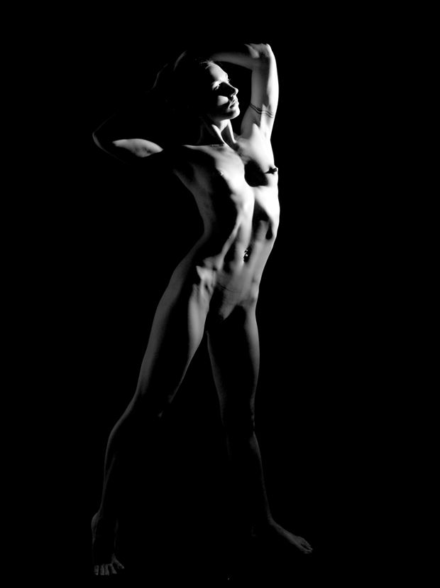 wenona artistic nude photo print by photographer pblieden