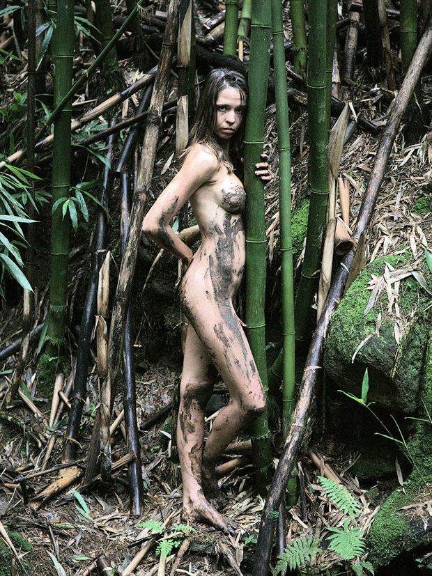 wild in maui artistic nude photo print by photographer pblieden