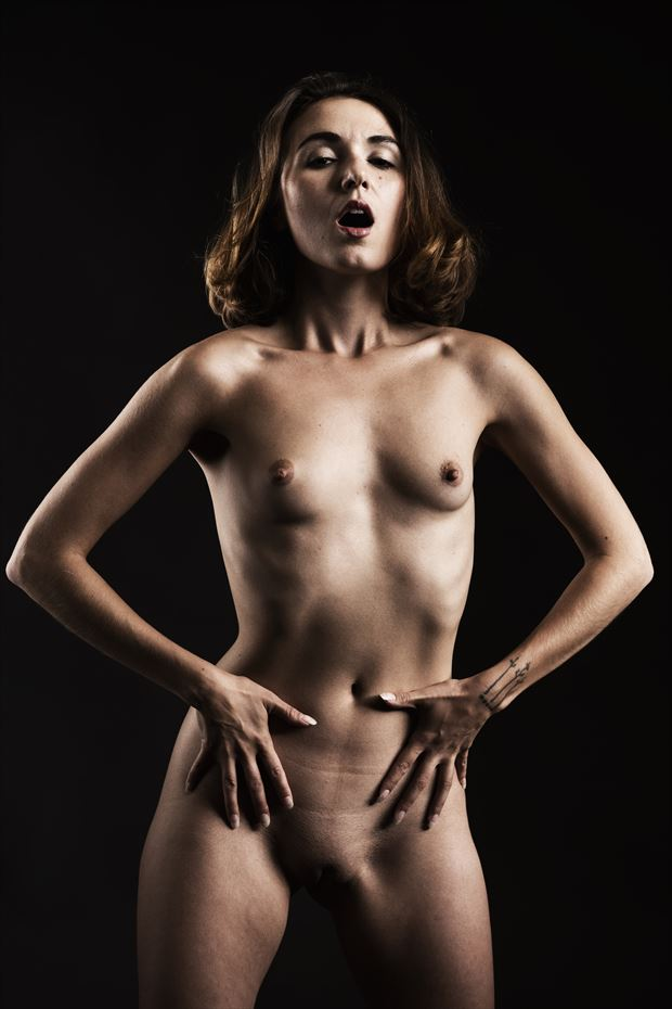zoe west artistic nude photo print by photographer depa kote