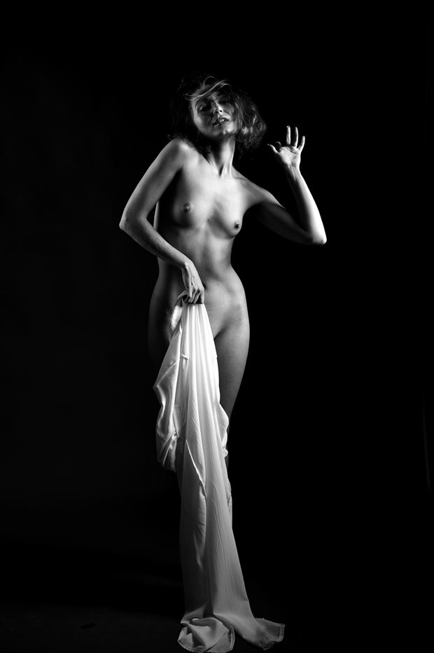 zoe west artistic nude photo print by photographer depa kote